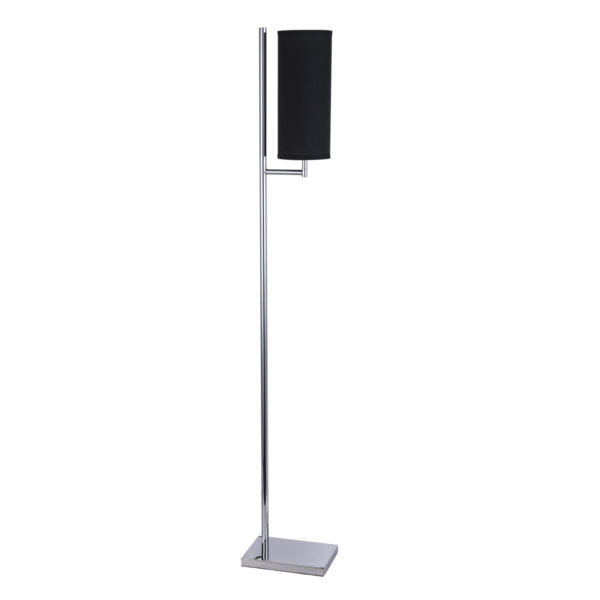 Bennett Black 1 Light Floor Lamp