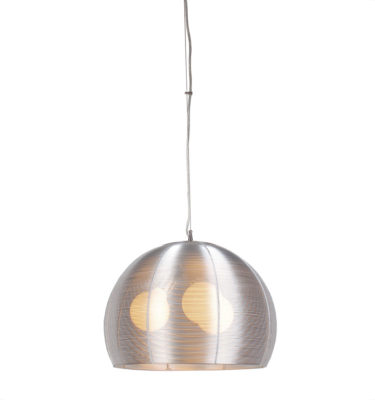 Lenox 3 Light Round Modern Silver Pendant