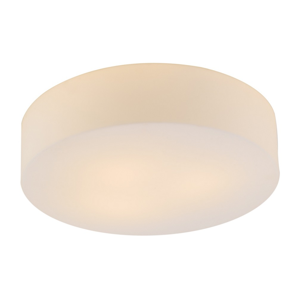 Lynch Opal Glass Flush Mount Ceiling Light
