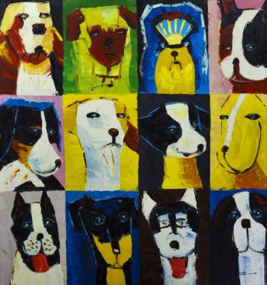 Dogs 1 Wall Art