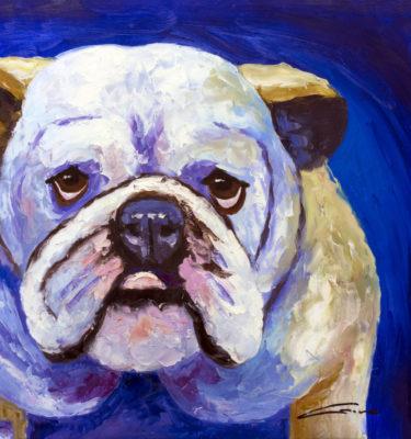Bulldog Wall Art