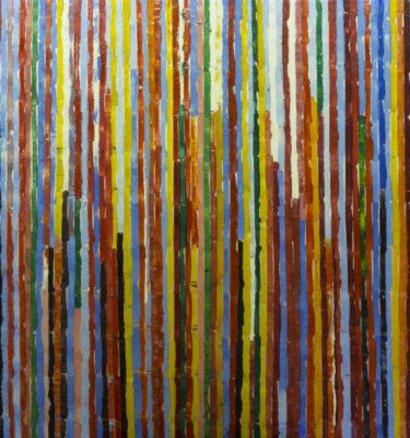 rainbow Vines 2  Wall Art