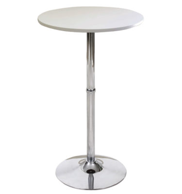 Madison White Bar Table