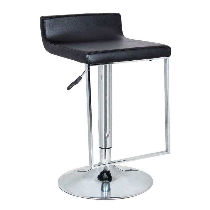 Astonishing Spencer Black Adjustable Height Swivel Bar Stool Lamtechconsult Wood Chair Design Ideas Lamtechconsultcom