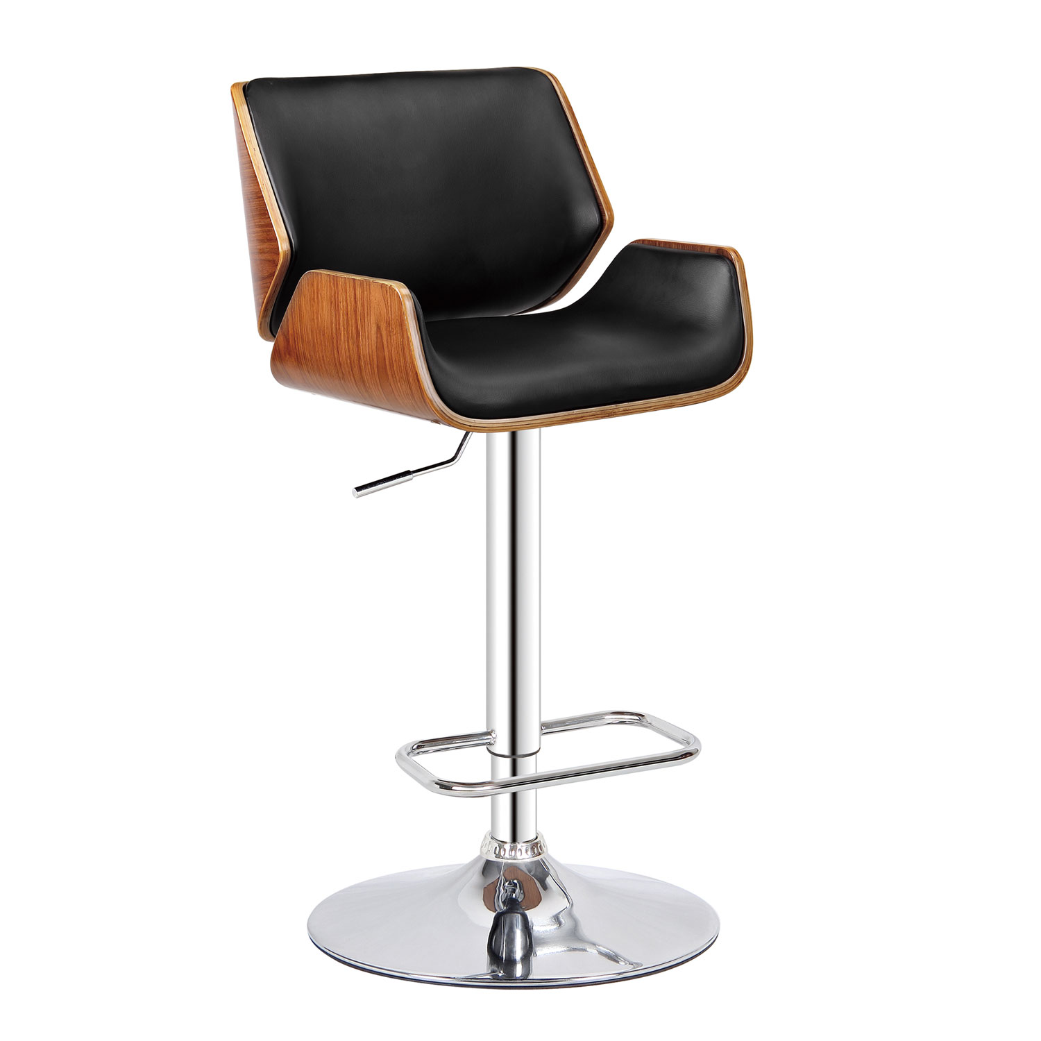 Dempster Adjustable Height Swivel Bar Stool Bromi Design