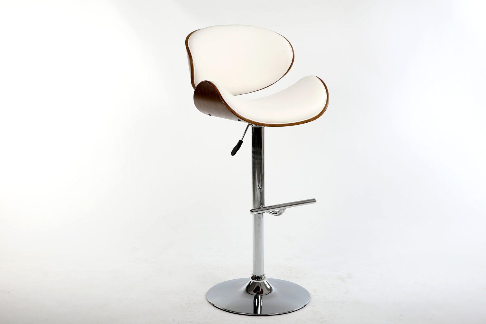 Hailey Adjustable Height Swivel Bar Stool Bromi Design