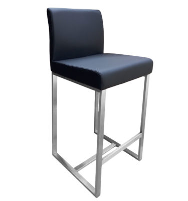 Stanton Black Bar Stool