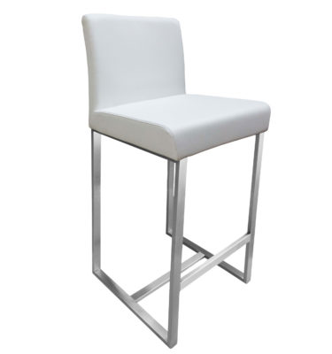 Stanton White Bar Stool