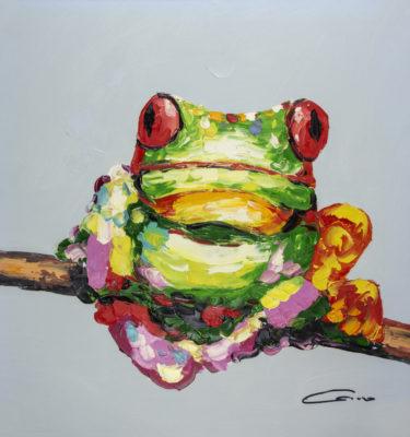 Frog Tree Wall Art
