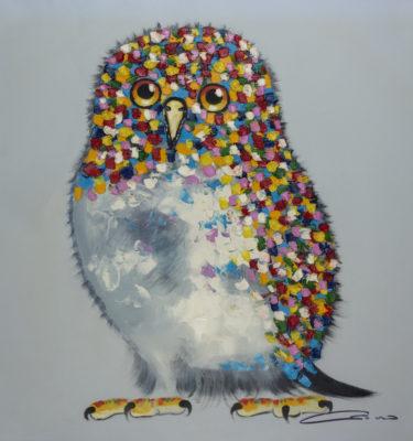 Bird Multicolor Wall Art