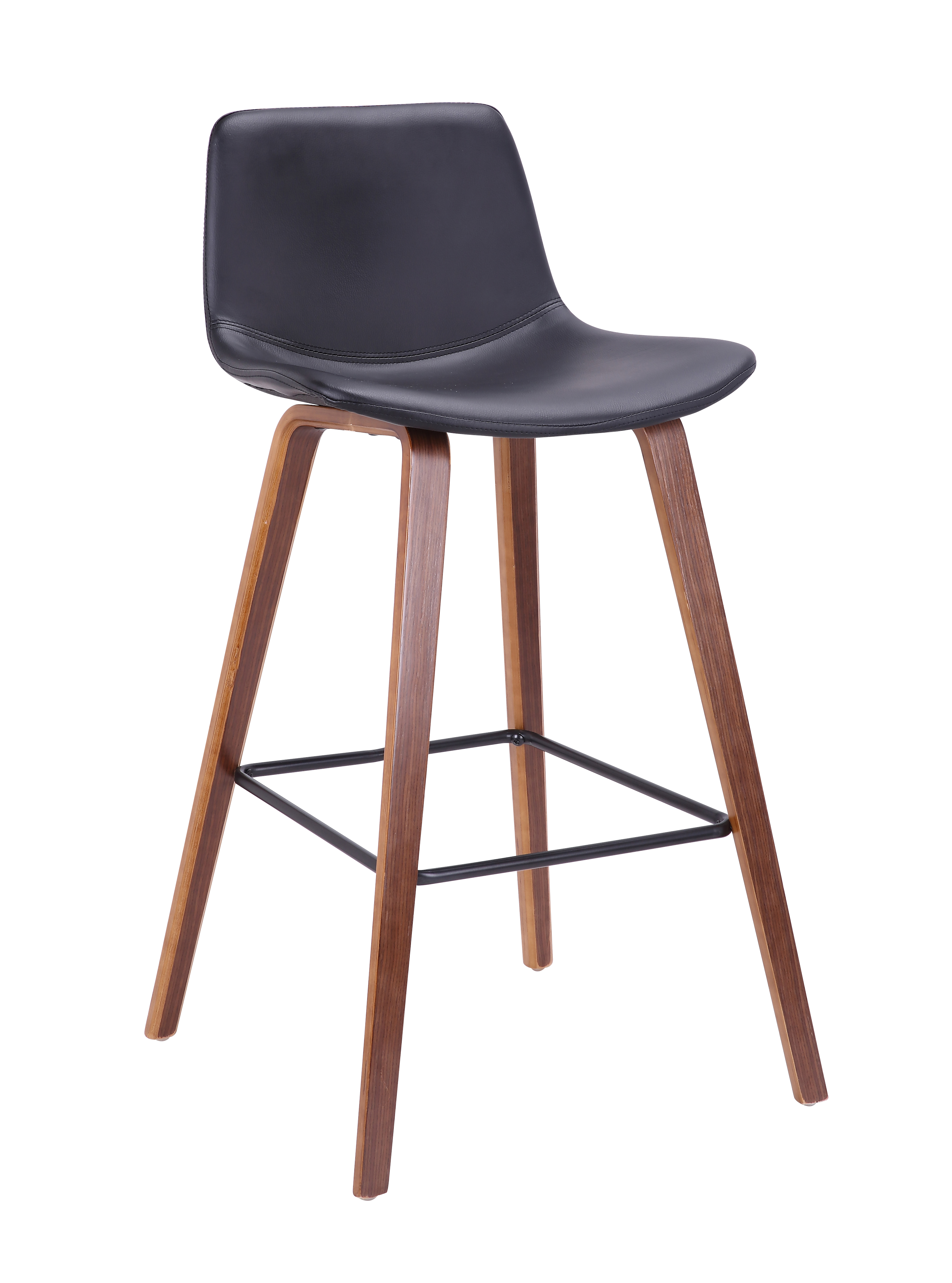 Bromi Design Union Barstool Black Bromi Design
