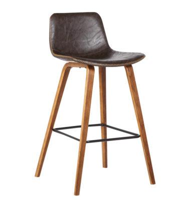 Bromi Design Union Barstool- Brown