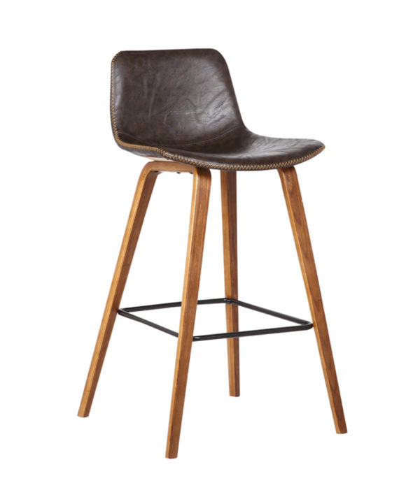 Bromi Design Union Barstool- Brown