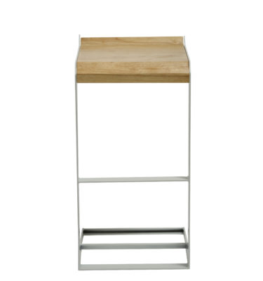 Bromi Design Logan Barstool- White